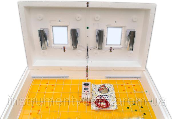 """Инкубатор бытовой """"Рябушка-2"""" с автоматическим переворотом и цифровым терморегулятором (на 70 яиц)"""