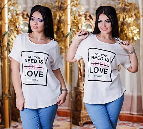Батальная футболка с надписями, фото 2