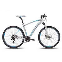 "Велосипед 27,5"" PRIDE XC-650 MD рама - 21"" серо-синий матовый 2016"
