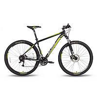 """Велосипед 29"""" PRIDE XC-29 HD рама - 21"""" черно-зеленый матовый 2016, фото 1"""