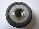 Шкив генератора 5PK, демпферный на Renault Trafic / Opel Vivaro 1.9dCi -AC (2001-2006) AS (Польша) AFP0014, фото 6