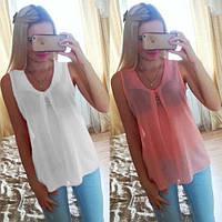 Блуза Легкость, 6 цветов