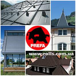 Алюминиевые кровли PREFA сделано в Германии.