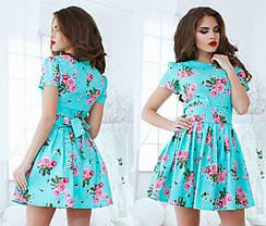 Т1061 Платье летний джинс, фото 3
