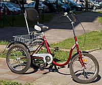 TOLEK Special Bike реабилитационный трехколесный велосипед со спинкой