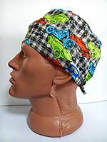 Мужская медицинская шапка с рисунком