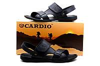 Сандалии Cardio, мужские, черные, р. 40 44 45