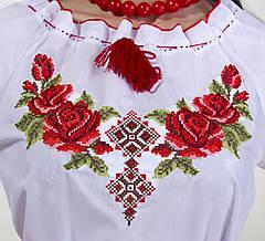 Женская вышиванка розы, фото 2