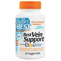 От варикоза Best Vein Support , Doctor's Best, Содержит DiosVein, 60 капсул