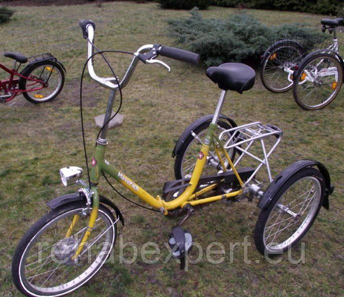 Трехколесный велосипед для детей с ДЦП Haverich Special Bike for children 7 years