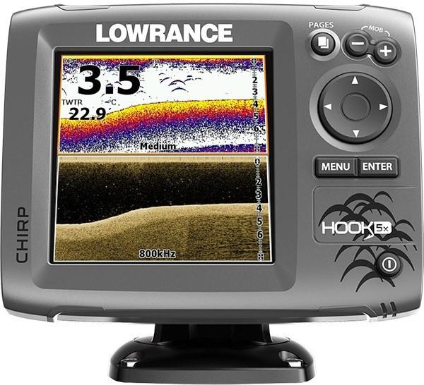 Эхолот Lowrance Hook 5 х