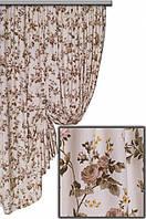 Ткань Хлопок Цветы  (с водоотталкивающим покрытием CRISTAL)  (Турция)