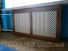 Екрани дерев'яні декоративні на батареї опалення