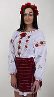 Сорочка вышиванка с розами есть большой размер