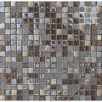 Мозаика с узором из мрамора и стекла Vivacer DAF17