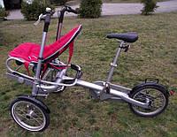 Рикша Алюминиевый Трехколесный велосипед для детей с ДЦП., фото 1
