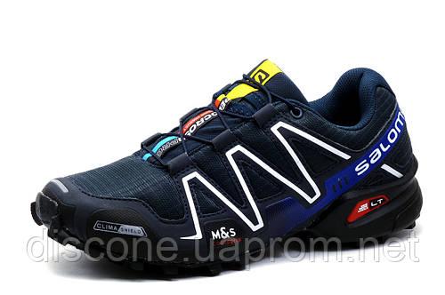 Кроссовки Salomon Speedcross III, серые, мужские