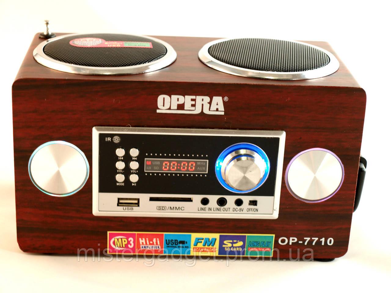 Портативная Колонка OPERA 7710 Опера
