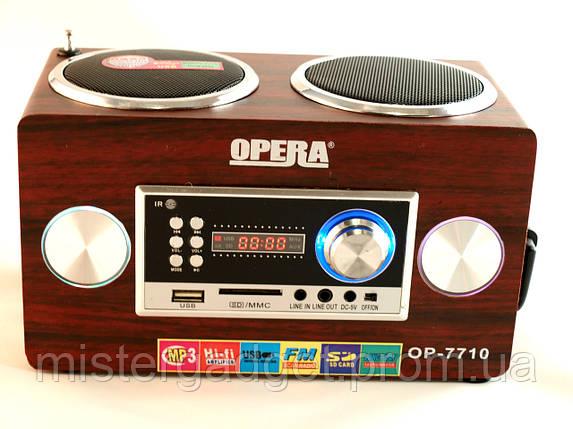 Портативная Колонка OPERA 7710 Опера, фото 2