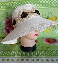 Льняная шляпа ромашки, фото 3