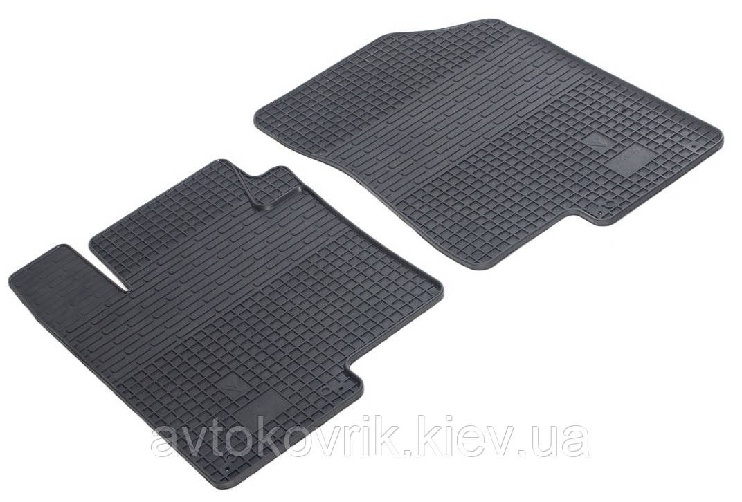 Резиновые передние коврики в салон Kia Optima III (TF) 2010-2015 (STINGRAY)