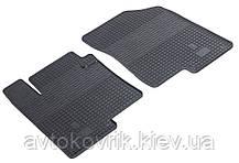 Гумові передні килимки в салон Kia Optima III (TF) 2010-2015 (STINGRAY)