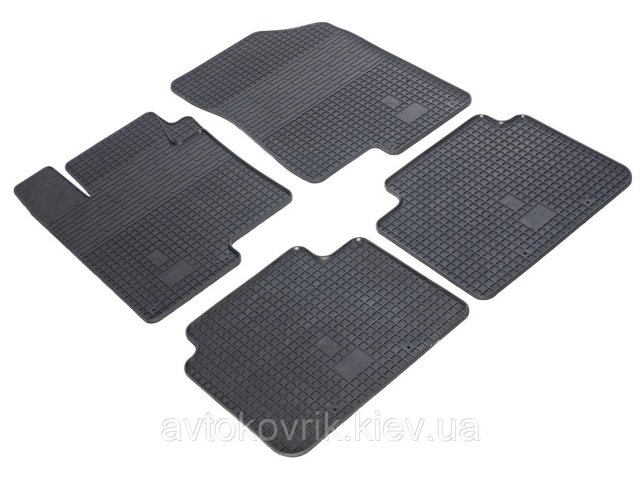 Резиновые коврики в салон Kia Optima III (TF) 2010-2015 (STINGRAY)