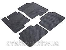 Гумові килимки в салон Kia Optima III (TF) 2010-2015 (STINGRAY)