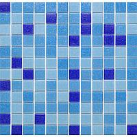 Голубая мозаика для бассейна Vivacer GLmix2