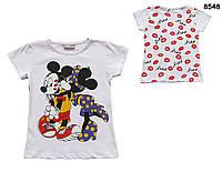 Футболка Minnie&Mickey Mouse для девочки. 1-2 года