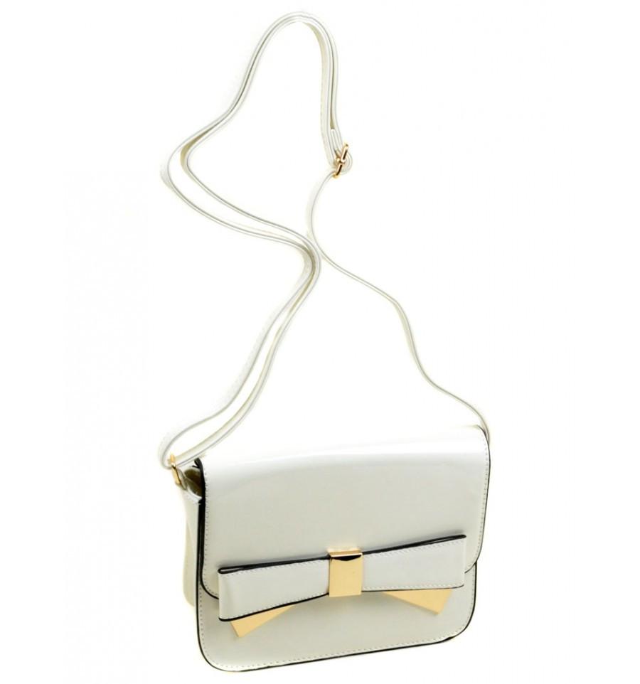 f6805ced3e65 Белый лаковый клатч, цена 567 грн., купить в Киеве — Prom.ua (ID#285960428)