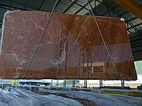 Rojo Alicante красный мрамор 20мм
