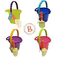 Набор для игры с песком и водой Ведерце с лопаткой (цвета в ассорт.) Battat