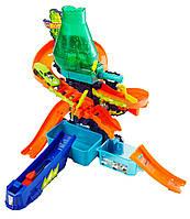 Hot Wheels Трек Научная лаборатория Взрыв цветов Хот Вилс серия Измени цвет Color Shifters