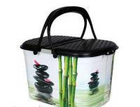 Корзина для пикника Elif, рисунок Бамбук