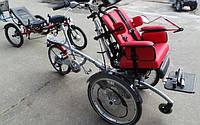 Тандем кресло-коляска с велосипедом O-Pair2 Electric Special Bike, фото 1