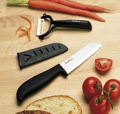 Керамический нож Yoshi Blade + овощечистка