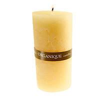 Свеча ароматерапевтическая большая 150*70 - Пина колада (Желтый), 570 г