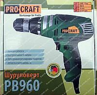 Сетевой Шуруповерт PROCRAFT PB960 (960 Вт)