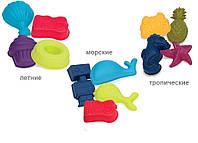 Набор для игры с песком и водой 4 Пасочки (цвета в ассорт.) Battat