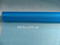 Органза обычная на метраж,цвет голубой(ширина 70см)