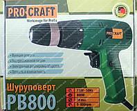 Сетевой Шуруповерт PROCRAFT PB800 (800 Вт)