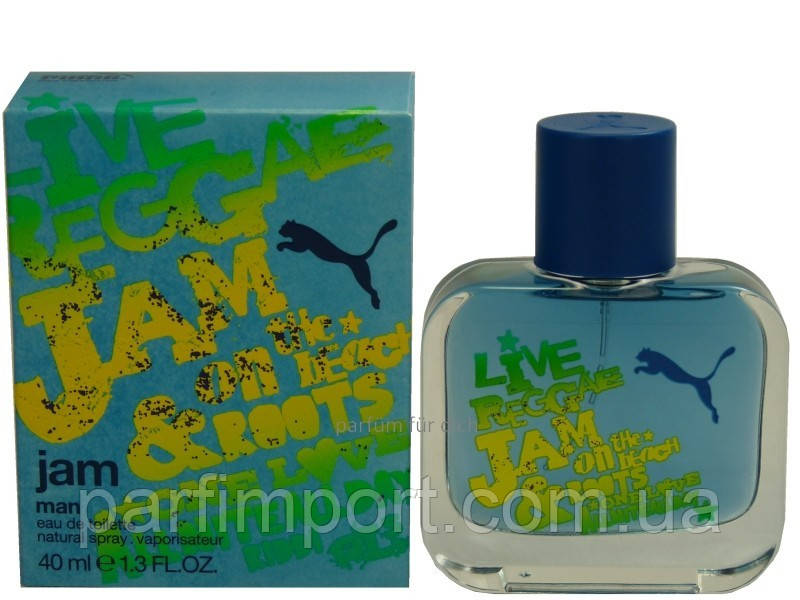 Puma Jam men EDT 40 ml Туалетна вода жіноча (оригінал оригінал Німеччина)
