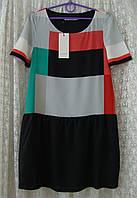 Платье легкое модное мини see U soon р.44 6637