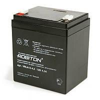 Акумулятор свинцево-кислотний ROBITON VRLA12-4.5