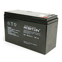 Аккумулятор свинцово-кислотный ROBITON VRLA12-7