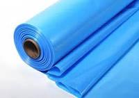 Пленка полиэтиленовая голубая ширина 1,5м, 100мк, 100м в рулоне, 1й сорт , код 71-001