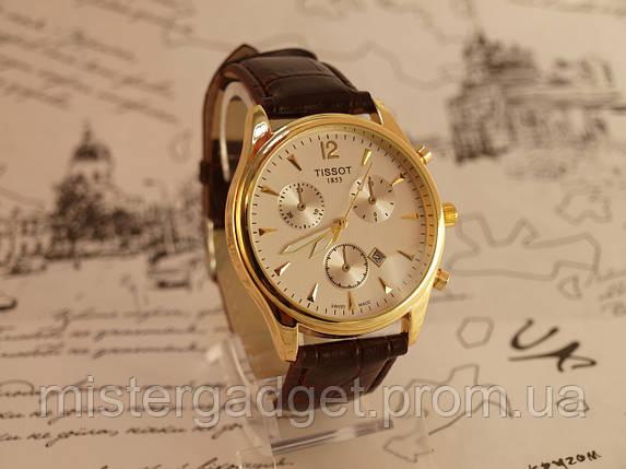 Часы мужские Tissot Gold Brown копия, фото 2