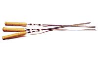 Шампур с деревянной ручкой, код 100-02