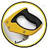 """Ножовка по дереву """"Caiman"""",450мм,7TPI,зуб 3D,каленный зуб HT-Tools, код 21-012"""